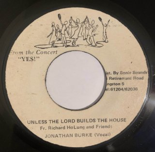 JONATHAN BURKE - UNLESS THE LORD BUILDS THE HOUSE