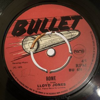 LLOYD JONES - ROME
