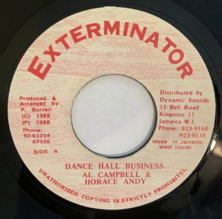 AL CAMPBELL & HORACE ANDY - DANCE HALL BUSINESS