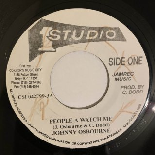 JOHNNY OSBOURNE - PEOPLE A WATCH ME