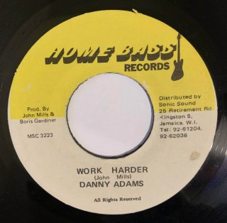 DANNY ADAMS - WORK HARDER