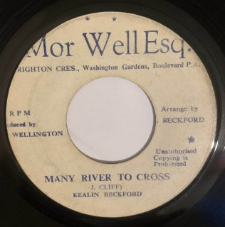 KEALIN BECKFORD - MANY RIVER TO CROSS