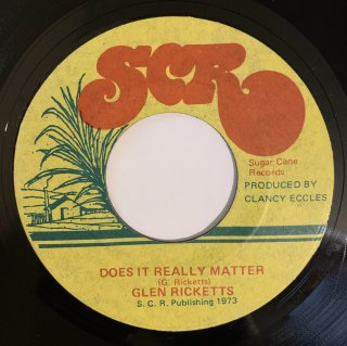 GLEN RICKETTS - DOES IT REALLY MATTER