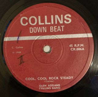 GLEN ADAMS - COOL COOL ROCK STEADY