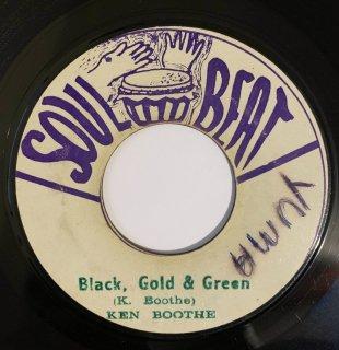 KEN BOOTHE - BLACK GOLD & GREEN