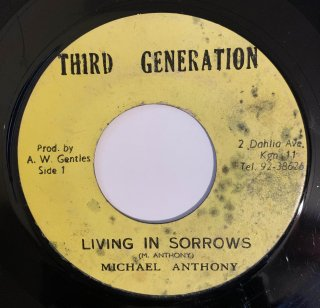 MICHAEL ANTHONY - LIVING IN SORROWS