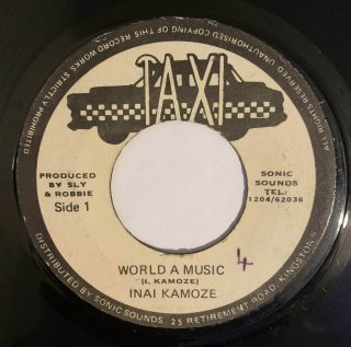 INI KAMOZE - WORLD A MUSIC