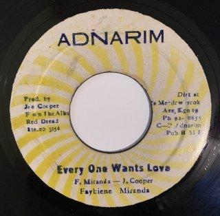 FAYBIENE MIRANDA - EVERY ONE WANTS LOVE