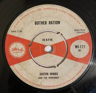 JUSTIN HINDS - BOTHER RATION