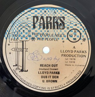 LLOYD PARKS - REACH OUT