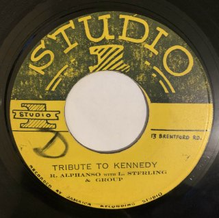 ROLAND ALPHONSO - TRIBUTE TO KENNEDY