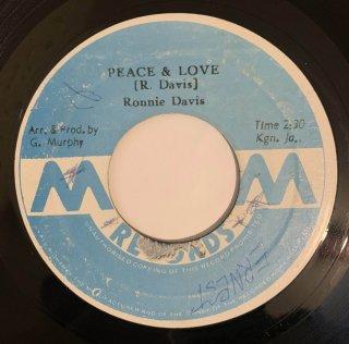 RONNIE DAVIS - PEACE & LOVE