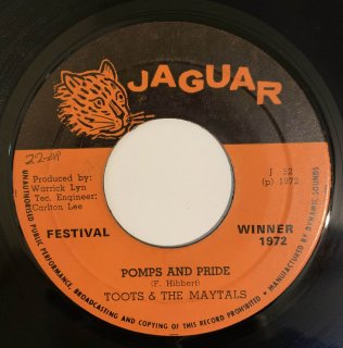 TOOTS & MAYTALS - POMPS AND PRIDE