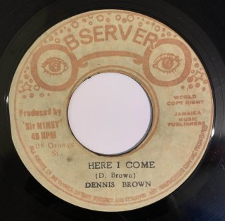 DENNIS BROWN - HERE I COME