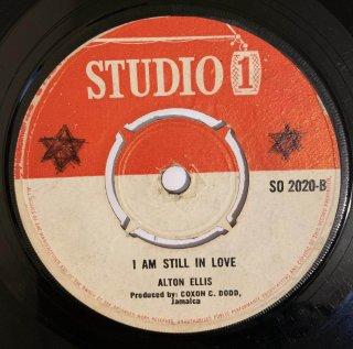 ALTON ELLIS - I AM STILL IN LOVE