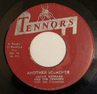 JACKIE BERNARD & TENNORS - ANOTHER SCORCHER