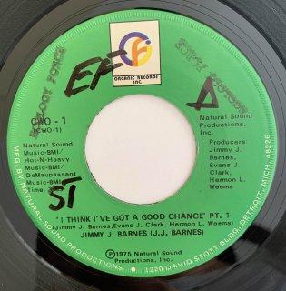 JIMMY J BARNES - I THINK I'VE GOT A GOOD CHANCE