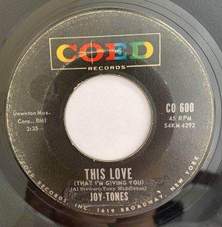 JOY TONES - THIS LOVE
