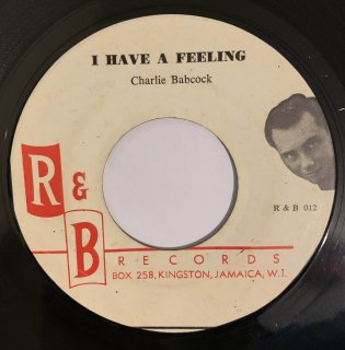 CHARLIE BABCOCK - I HAVE A FEELING