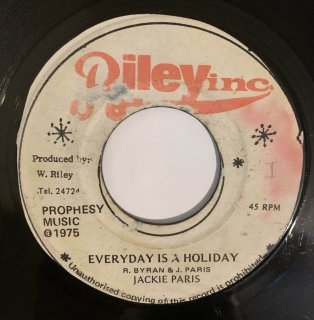 JACKIE PARIS - EVERYDAY IS A HOLIDAY