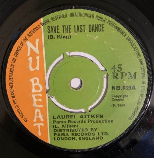 LAUREL AITKEN - SAVE THE LAST DANCE