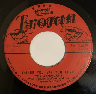 JAMAICANS - THINGS YOU SAY YOU LOVE