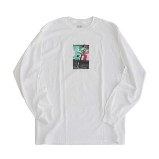 Notes Magazine  ×  JHAKX  LongSleeve  白  /  表記 M