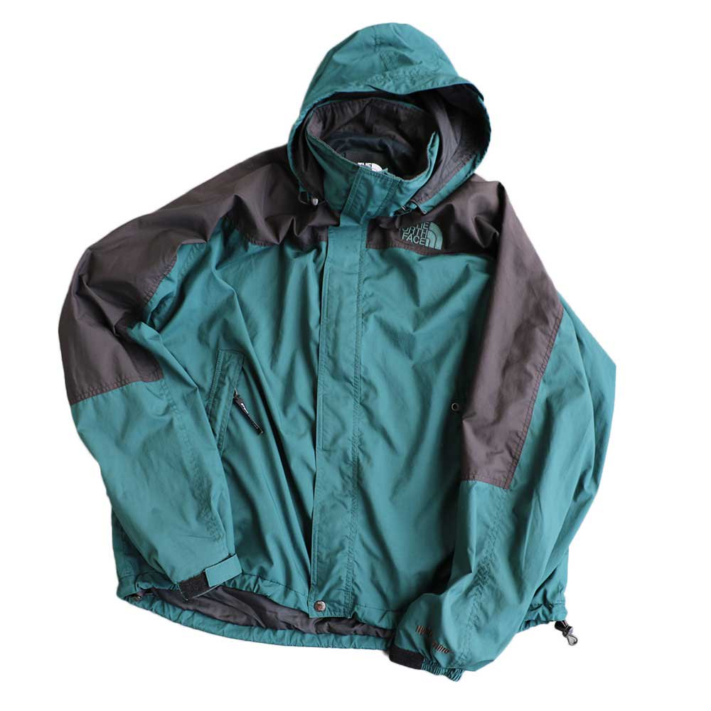 w-means(ダブルミーンズ) THE NORTH FACE  / Hydrenaline Nylon Jacket  緑×黒  MEN's XL 詳細画像