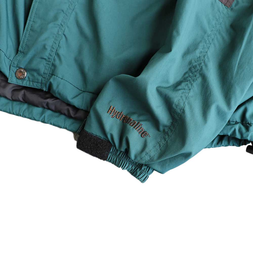 w-means(ダブルミーンズ) THE NORTH FACE  / Hydrenaline Nylon Jacket  緑×黒  MEN's XL 詳細画像3