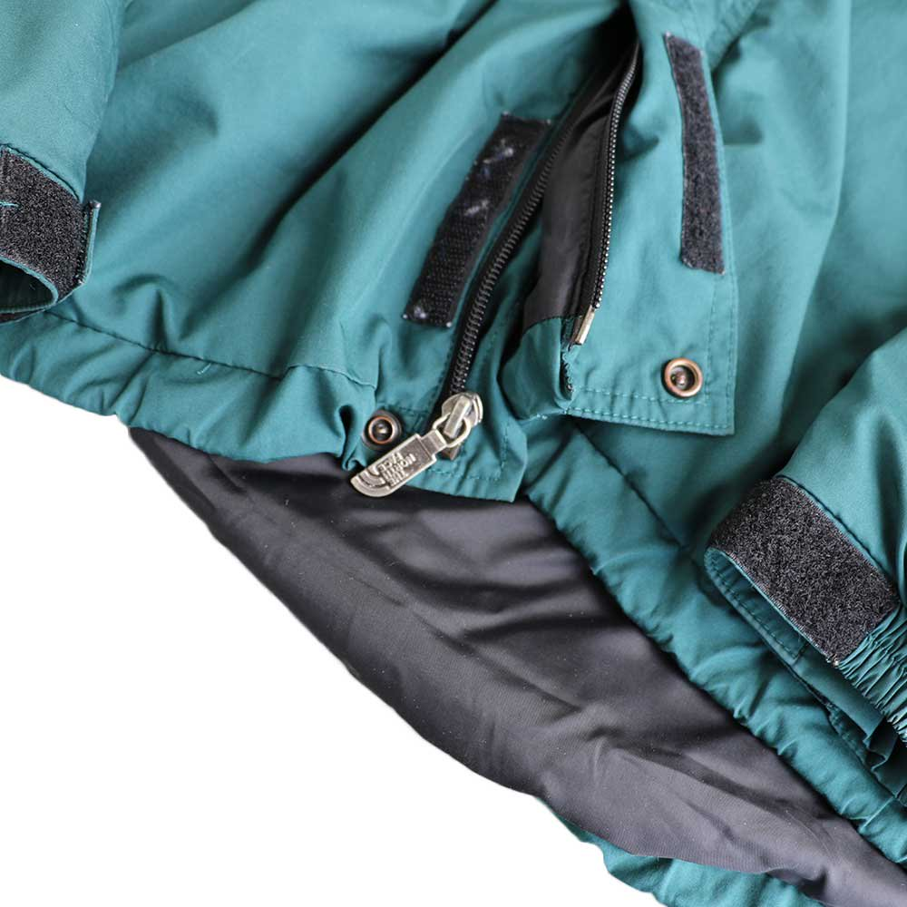 w-means(ダブルミーンズ) THE NORTH FACE  / Hydrenaline Nylon Jacket  緑×黒  MEN's XL 詳細画像4