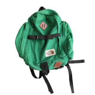 80's NORTH FACE  BACKPACK  アメリカ製  ケリーグリーン