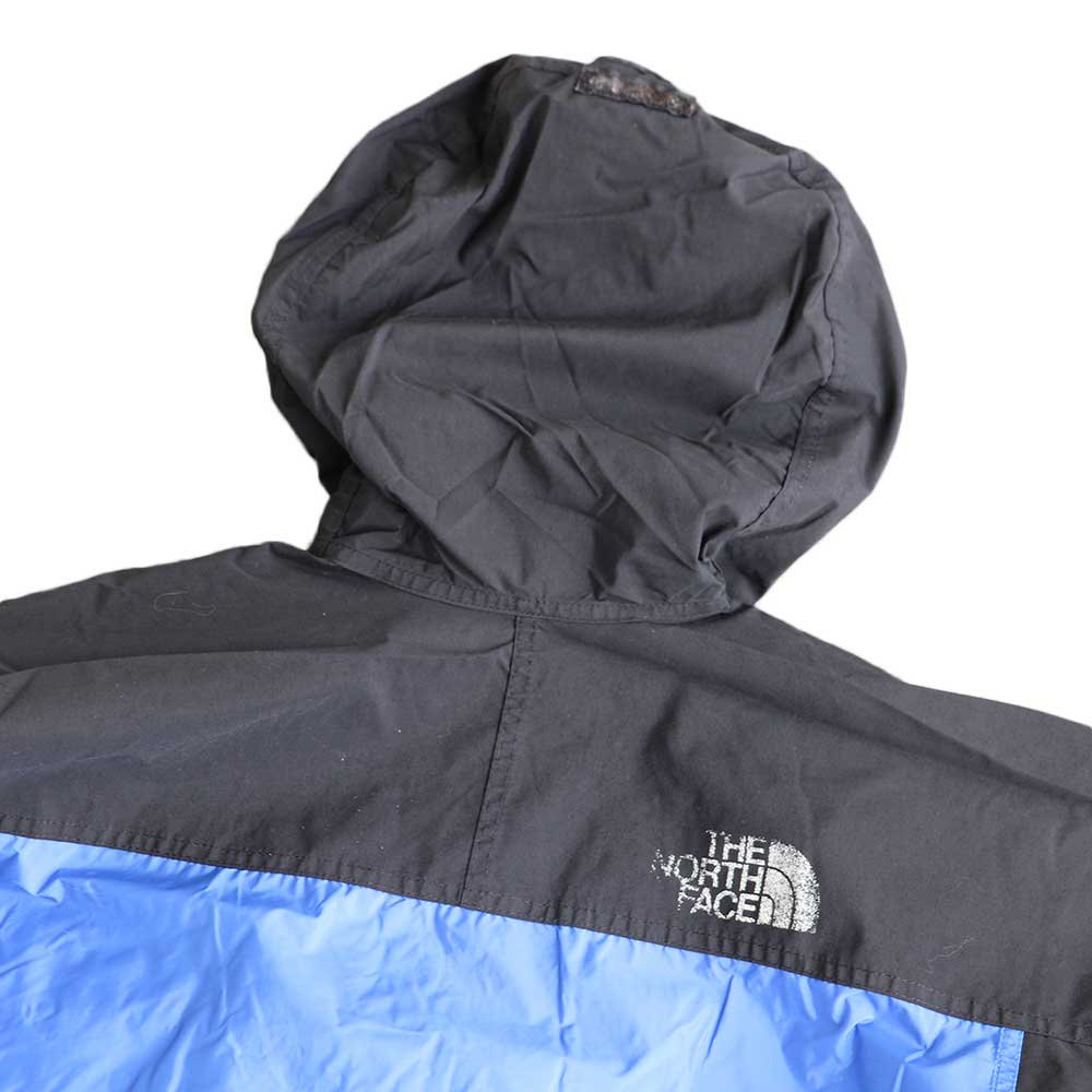 w-means(ダブルミーンズ) THE NORTH FACE  GORE-TEX(ゴアテックス)ジャケット  アメリカ製  表記S 青×黒 詳細画像5