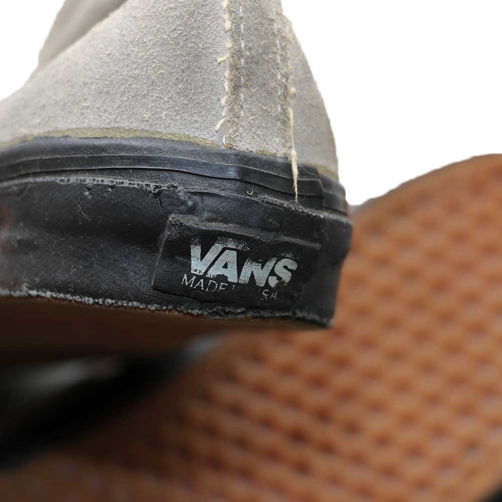 w-means(ダブルミーンズ) VANS CHUKKABOOTS アメリカ製 表記 11ハーフ  灰×黒 詳細画像2
