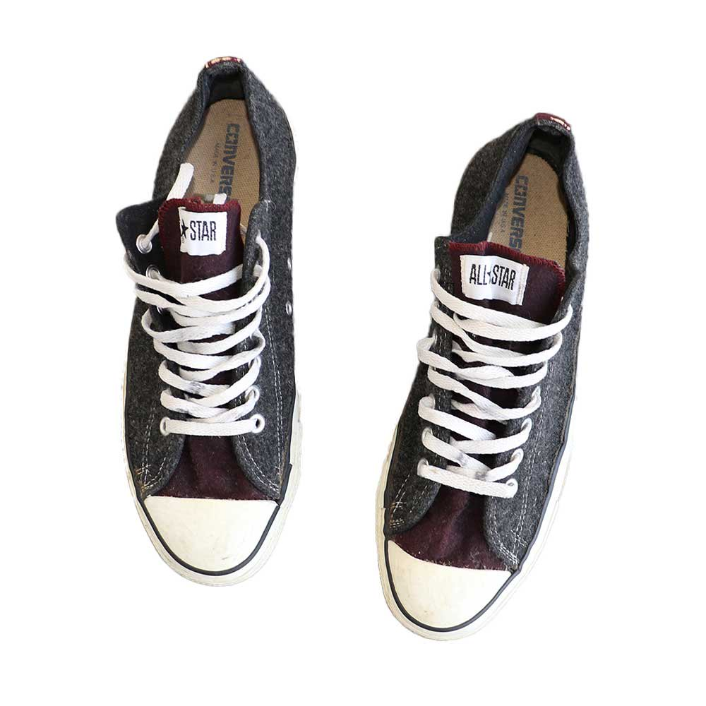 w-means(ダブルミーンズ) CONVERSE ALL STAR LOW(アメリカ製)表記11 2トーン 詳細画像