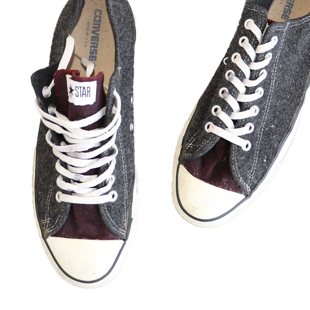 w-means(ダブルミーンズ) CONVERSE ALL STAR LOW(アメリカ製)表記11 2トーン 詳細画像5