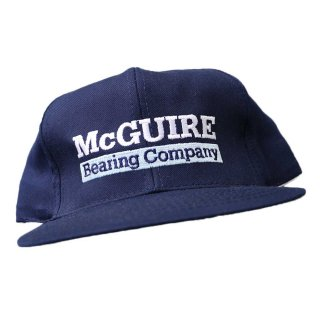 PLAYERS CAP(McGUIRE Bearing Company)ONE SIZE FITS ALL 濃紺
