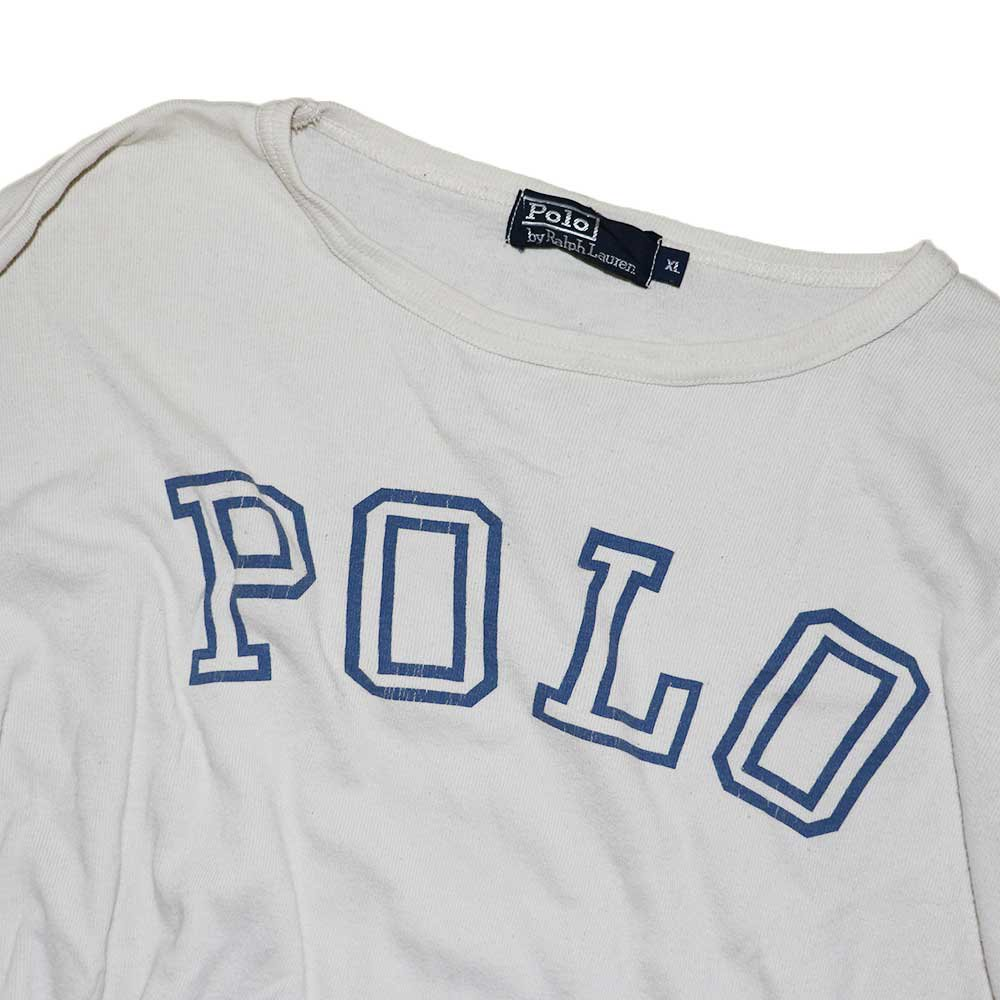 w-means(ダブルミーンズ) POLO RALPH LAUREN セットイン(アメリカ製)表記xL 2TONE 詳細画像1