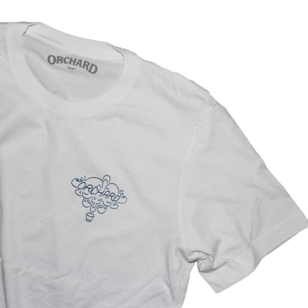 w-means(ダブルミーンズ) ORCHARD SKATE SHOP 半袖Tシャツ 表記L しろ 詳細画像1