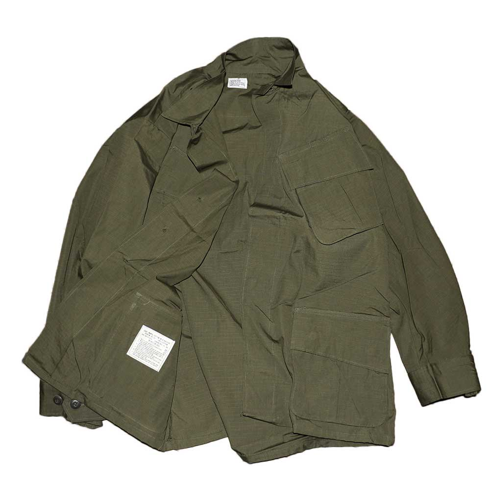 w-means(ダブルミーンズ) US ARMY JUNGLE FATIGUE JACKET(デットストック)表記M-SHORT アーミーグリーン 詳細画像