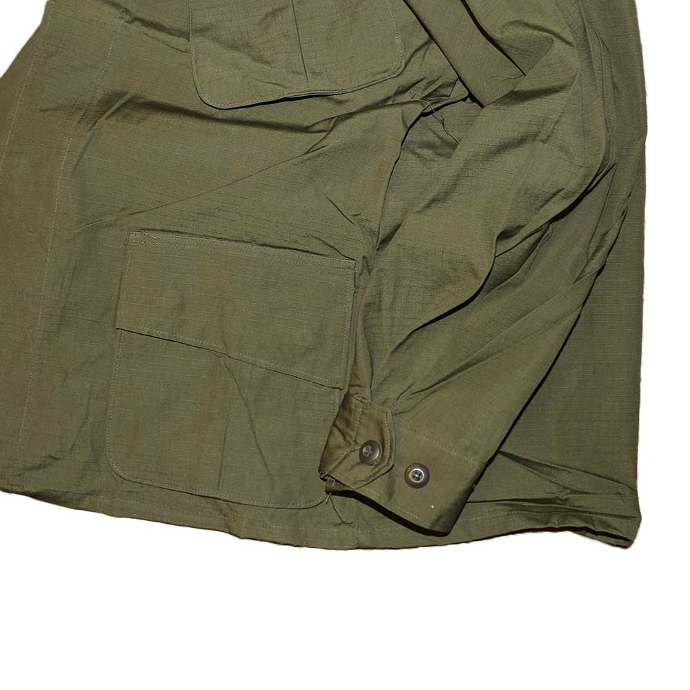 w-means(ダブルミーンズ) US ARMY JUNGLE FATIGUE JACKET(デットストック)表記M-SHORT アーミーグリーン 詳細画像5