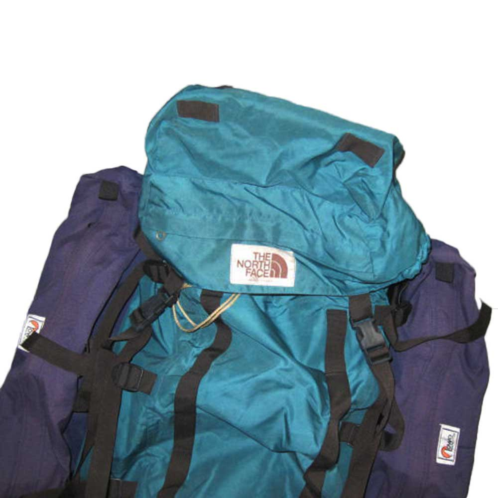 w-means(ダブルミーンズ) THE NORTH FACE + Lowe ALPINE SYSTEMS バックパック(アメリカ製) 表記xL  緑×紫   詳細画像2
