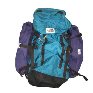 THE NORTH FACE + Lowe ALPINE SYSTEMS バックパック(アメリカ製) 表記xL  緑×紫