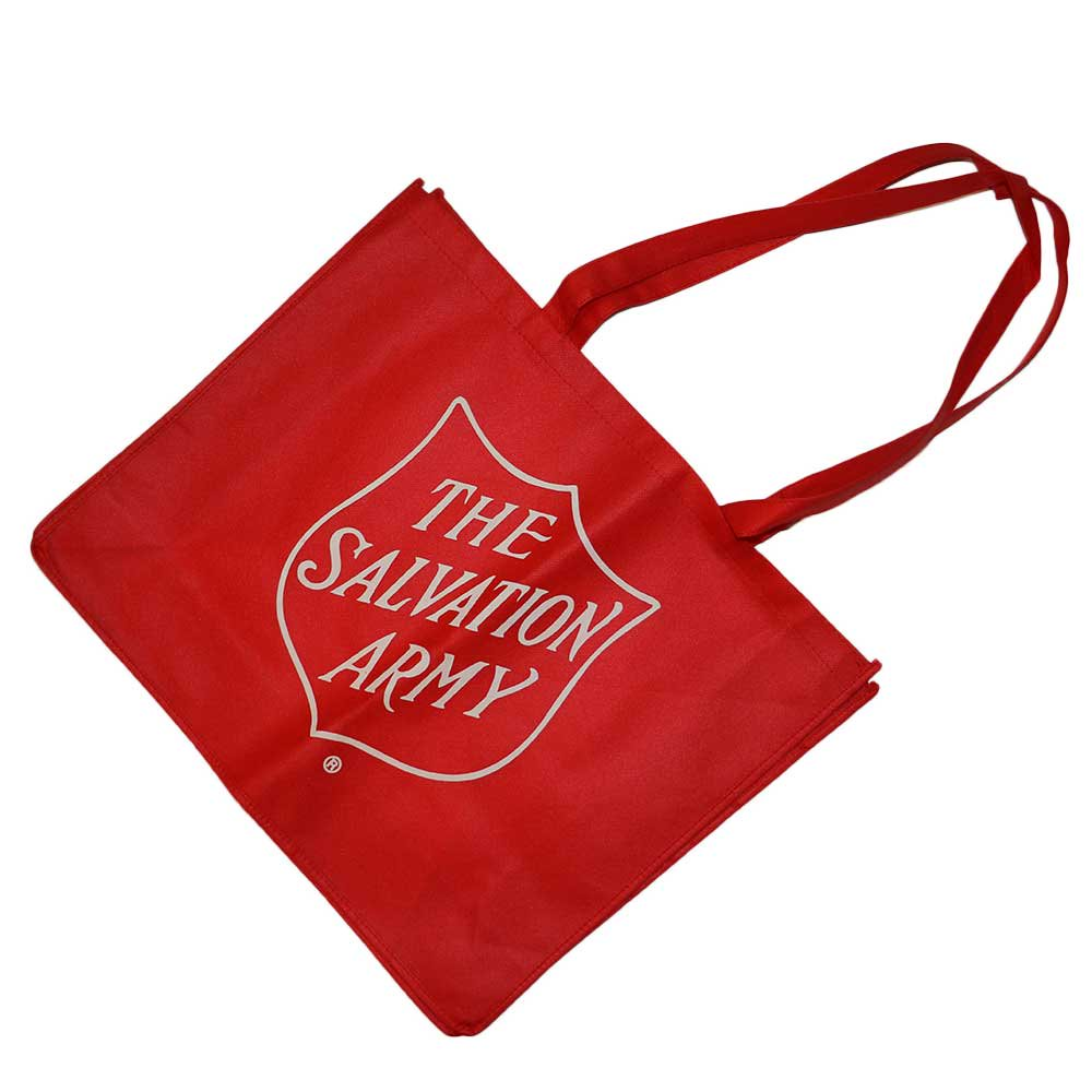 w-means(ダブルミーンズ) THE SALVATION ARMY ショピングバック Red 詳細画像
