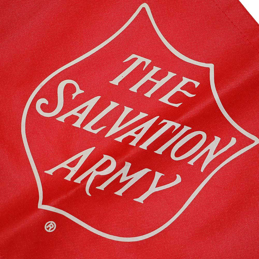 w-means(ダブルミーンズ) THE SALVATION ARMY ショピングバック Red 詳細画像1
