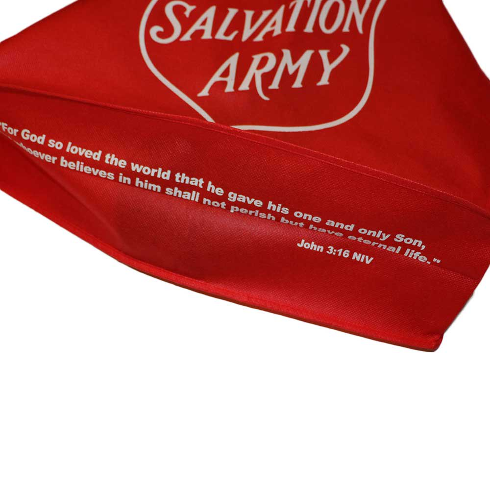 w-means(ダブルミーンズ) THE SALVATION ARMY ショピングバック Red 詳細画像3