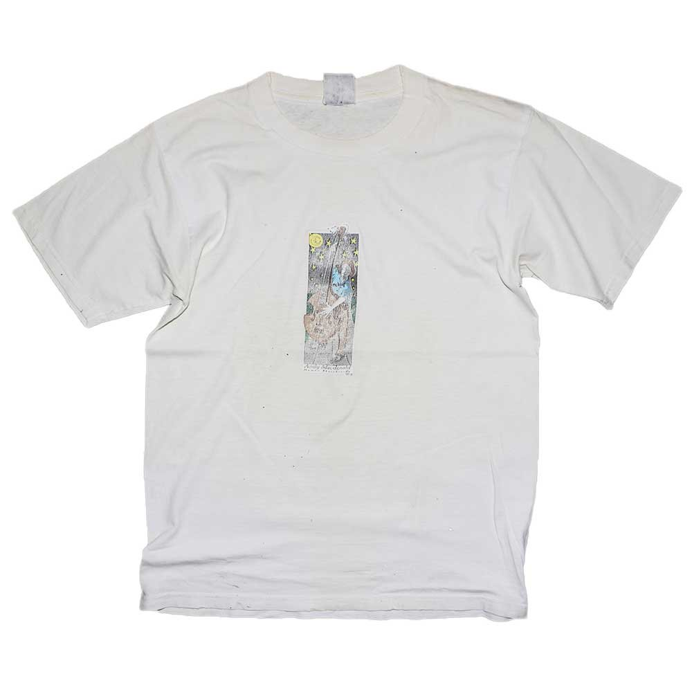 w-means(ダブルミーンズ) Human skateboards - Andy Macdonald 半袖Tシャツ 表記なし 白 詳細画像1