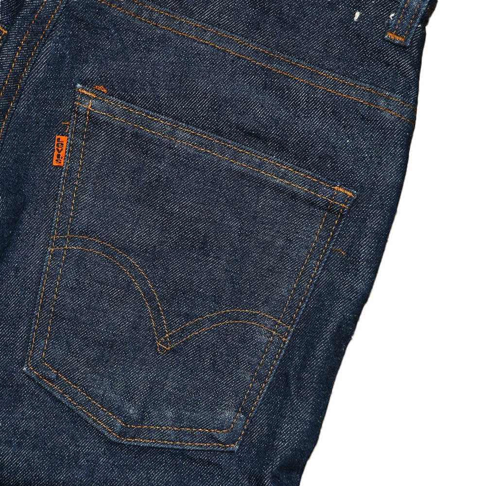 w-means(ダブルミーンズ) 70's Levis 684(アメリカ製)表記w28 インディゴブルー 詳細画像5
