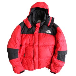 THE NORTH FACE 700 DOWN JACKET 表記xL 赤×黒