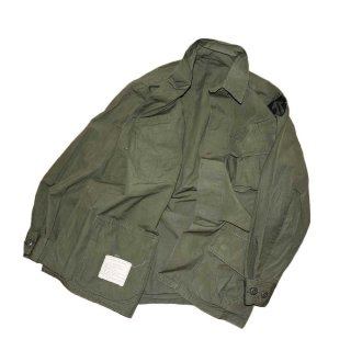 US ARMY JUNGLE FATIGUE JACKET 表記S-R アーミーグリーン