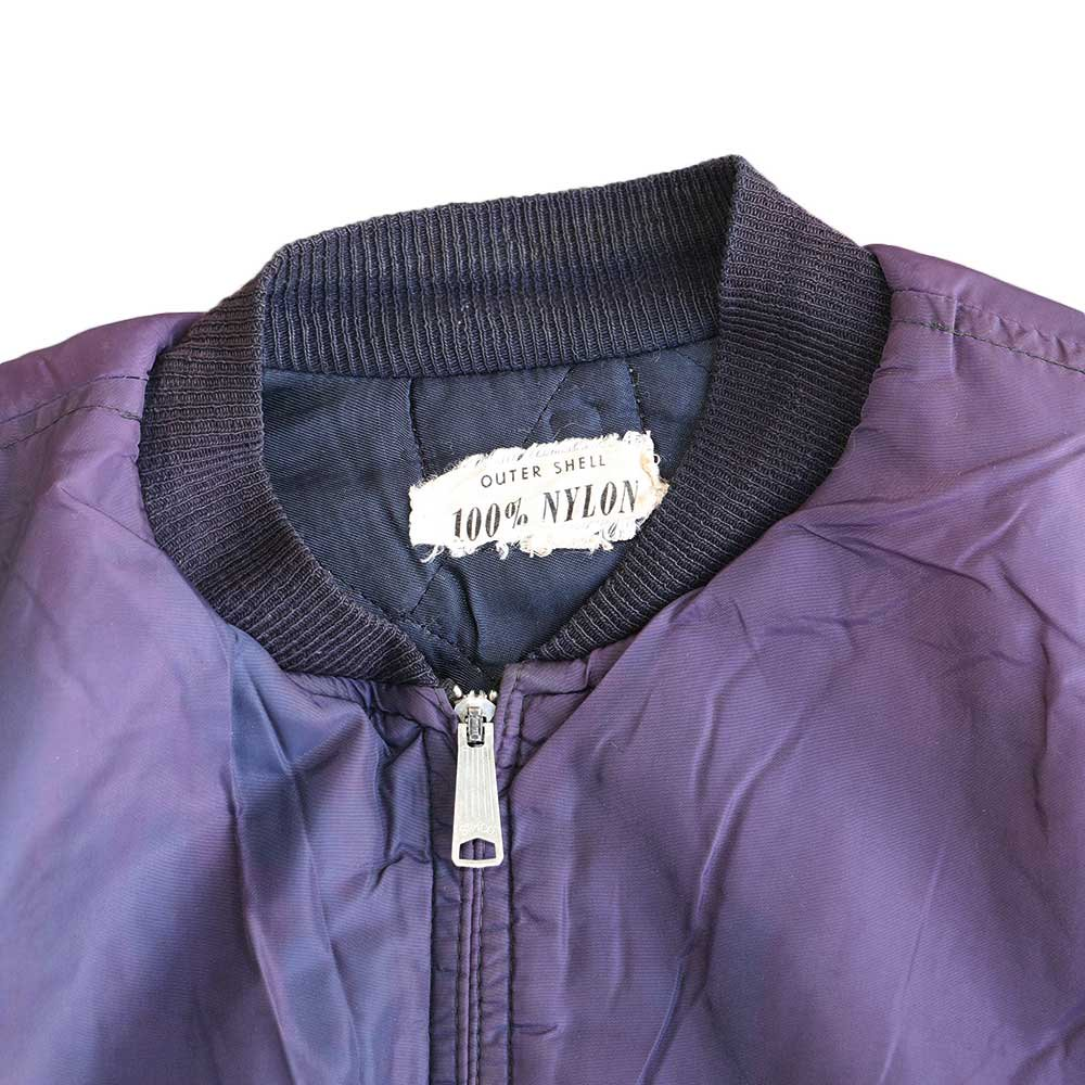 w-means(ダブルミーンズ) Nylon Tankers Jacket 表記なし 色褪紺 詳細画像1